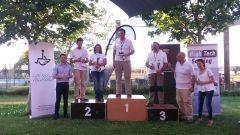 Podium de la clase Competicion; 1º Francisco Ortega, 2º Pilar Muñoz, 3º Pablo Vispe.