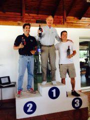 Premiación de la 3 Carrera