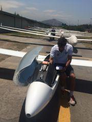 Piloto antes de Partir
