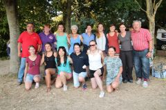 Journée d'accueil - Photo de groupe de 13 candidates ( 1 absente pour la première épreuve )