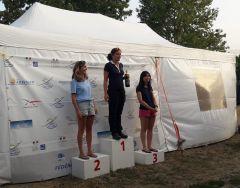 2ème journée - Le podium : 🥇Anaïs Gaubert 🥈Mathilde Metz 🥉Céline Rault