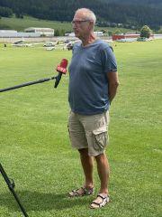 Wettbewerbsleiter Heinz Eibel