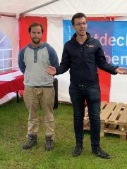 Manuel Salcher und Christoph Koch erklären uns die Welt