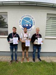 Die Österreichischen Juniorenmeister 2020: 1. Lukas Kirchberger (SFC Mariazell) 2. Daniel Lampel (Sportfliegerclub Fürstenfeld) *) 3. Benjamin Zoller (Innsbrucker SV)